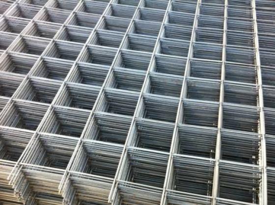 Классическая стальная сетка фото